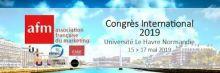 Congrès international AFM 2019